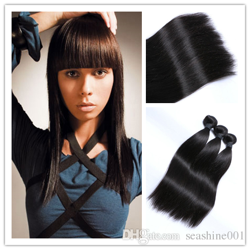 top high quality brazilian virgin straight hair unprocessed brazilian straight hair 3 bundles brazilian human hair weave hc products from seashine001 can help your hairs look thicker. human hair extensions weft are made of human hairs. Using human hair extension weft and human hair extension wefts can make you feel more confident.