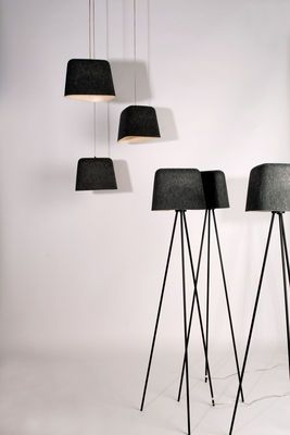 Tom Dixon Felt Pendant Grey Made In Design Uk Shabby Chic Lamp Shades Small Lamp Shades Table Lamp Shades