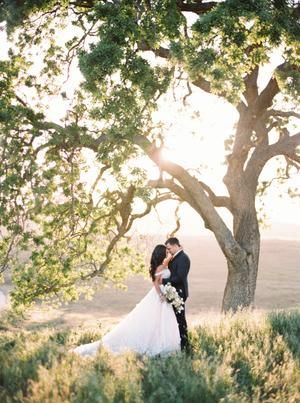 California Golden Hour Wedding Inspiration at Kestrel Park