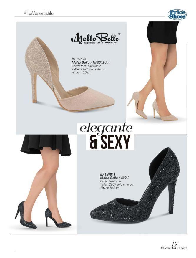 a926b1ae Catálogos Virtuales | Price Shoes la Moda mas Deseada | zapatos ...