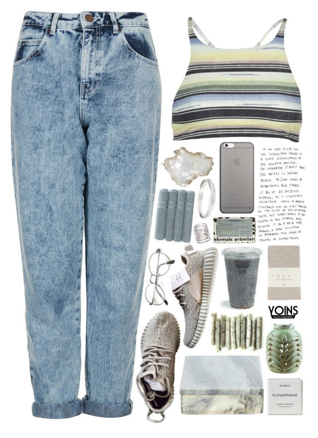 """""""Yoins // 90's Summer"""" by ritaflagy ❤ liked on Polyvore featuring Topshop, Billabong, Pier 1 Imports, Native Union, Korres, Nordstjerne, Surya, Byredo, Falke and Linum Home Textiles"""