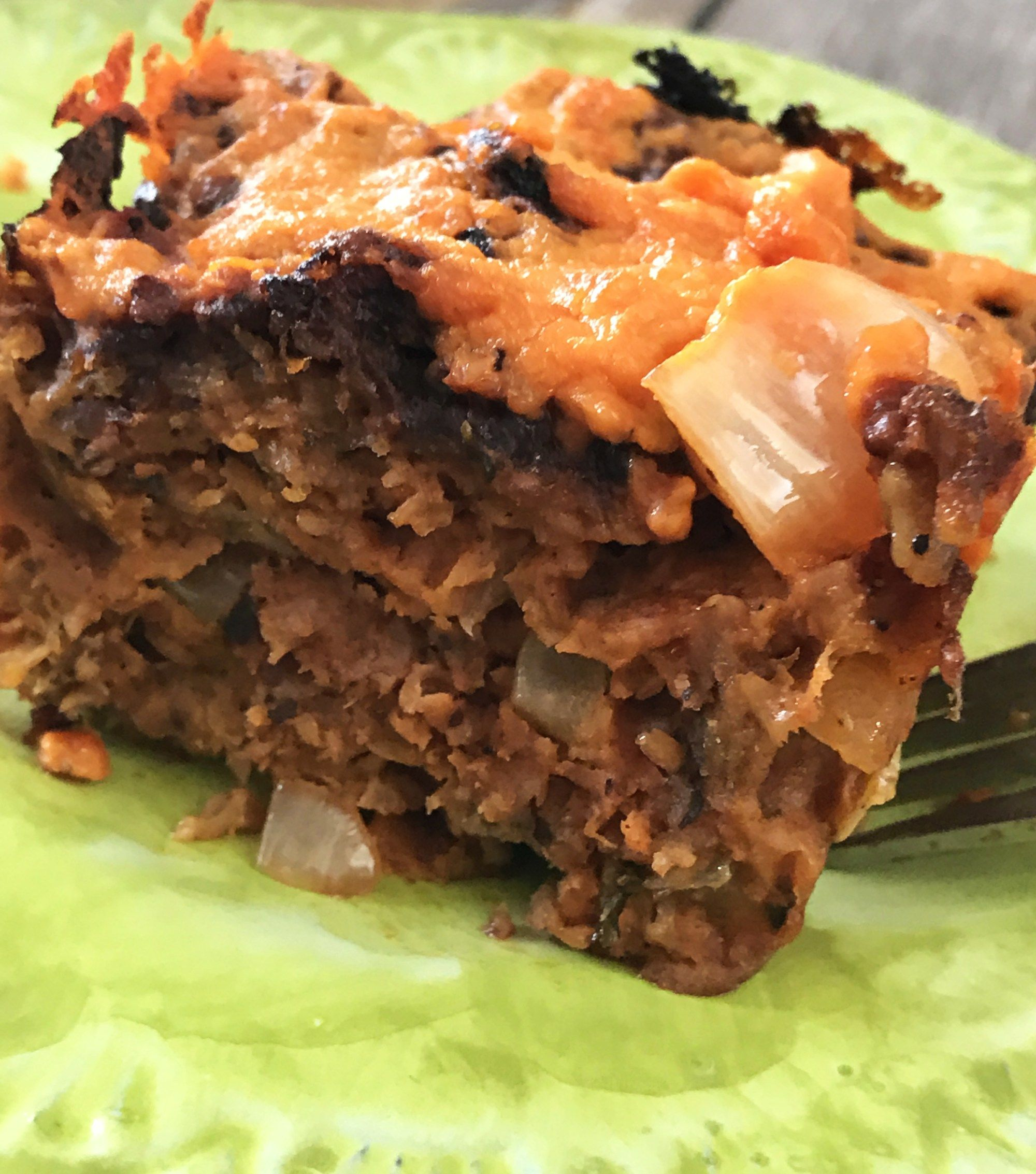 This tasty vegan version of meatloaf starring Beanfields