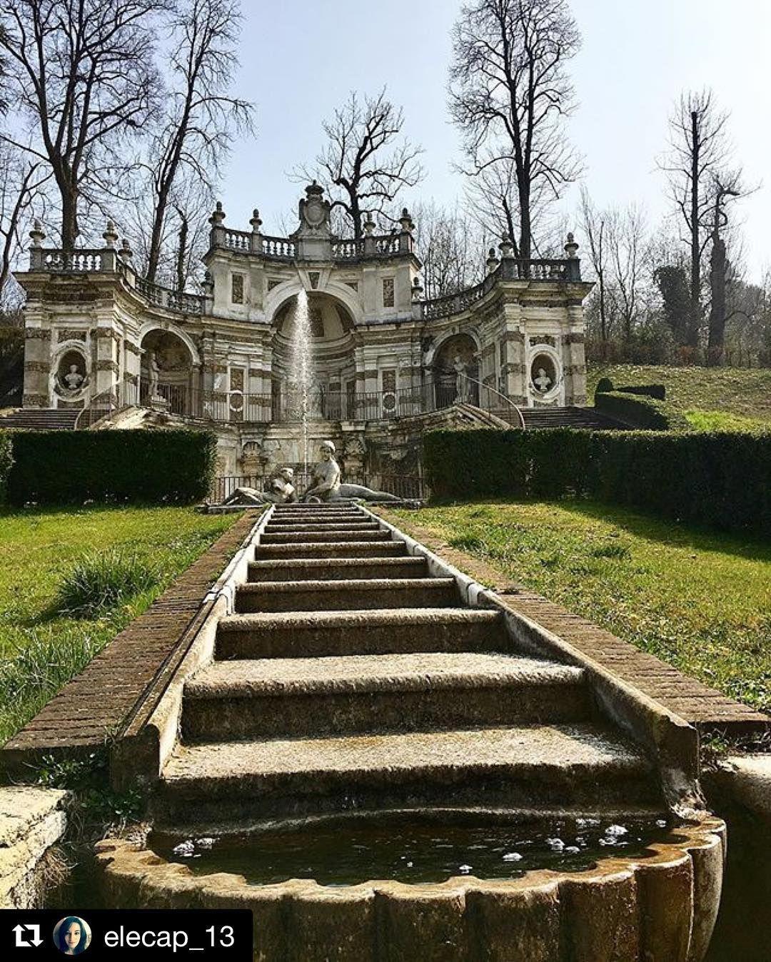Villa della Regina Torino Красавица и чудовище
