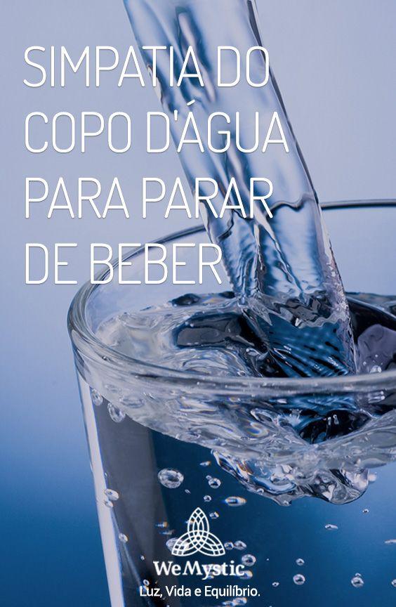 Simpatia Do Copo D Agua Para Parar De Beber Simpatia Do Copo
