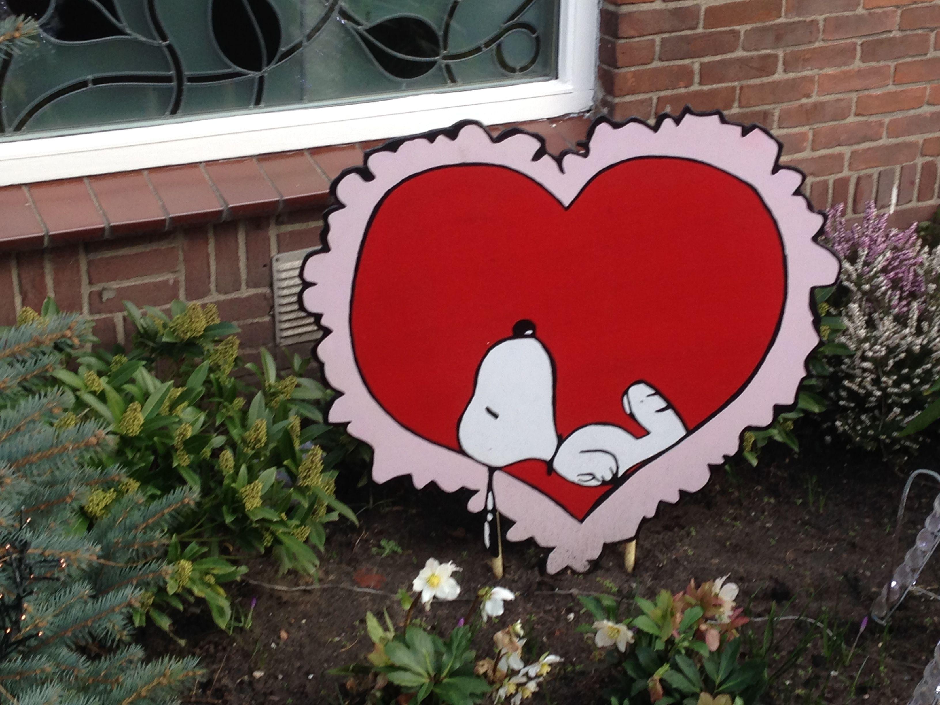 Valentijns Snoopy, speciaal voor Manouk ♥