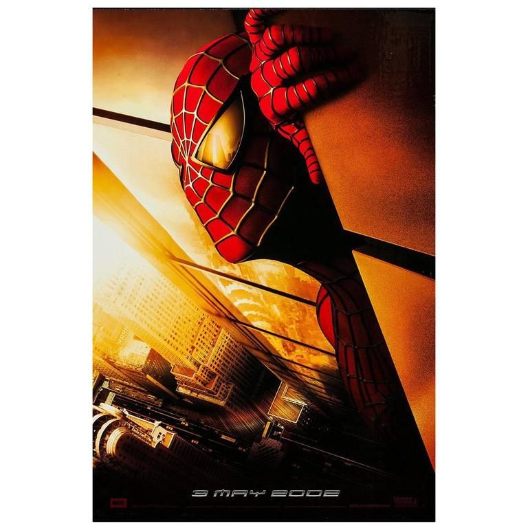 1stdibs Spider Man Film Poster 2002 American Posters In 2019