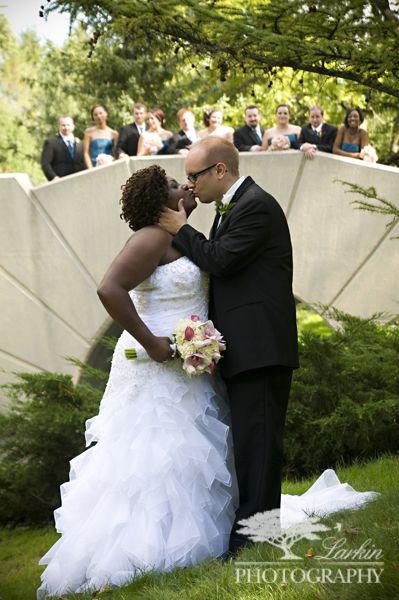 Dow Gardens Wedding Photo Courtesy Of Larkin Photography