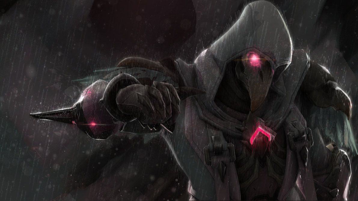 Reaper Nevermore Skin From Overwatch By Zetapt Overwatch Reaper Overwatch Wallpapers Overwatch