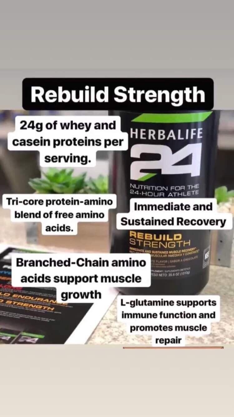 Herbalife Rebuild Strength 1000 In 2020 Herbalife Nutrition Facts Herbalife Herbalife Shake Recipes