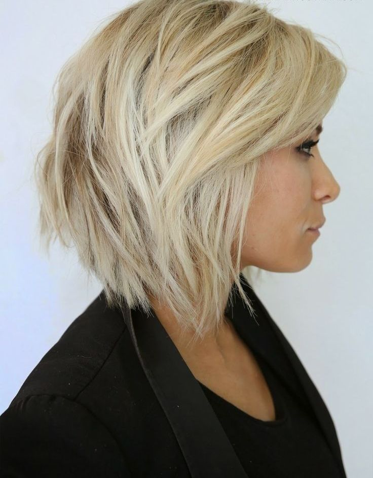 Neck Length Hairstyles chin length blunt bob more Beautiful Chin Length Hairstyles For Women