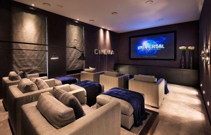 Cinema Room interior design | regal homes | london property developer | home