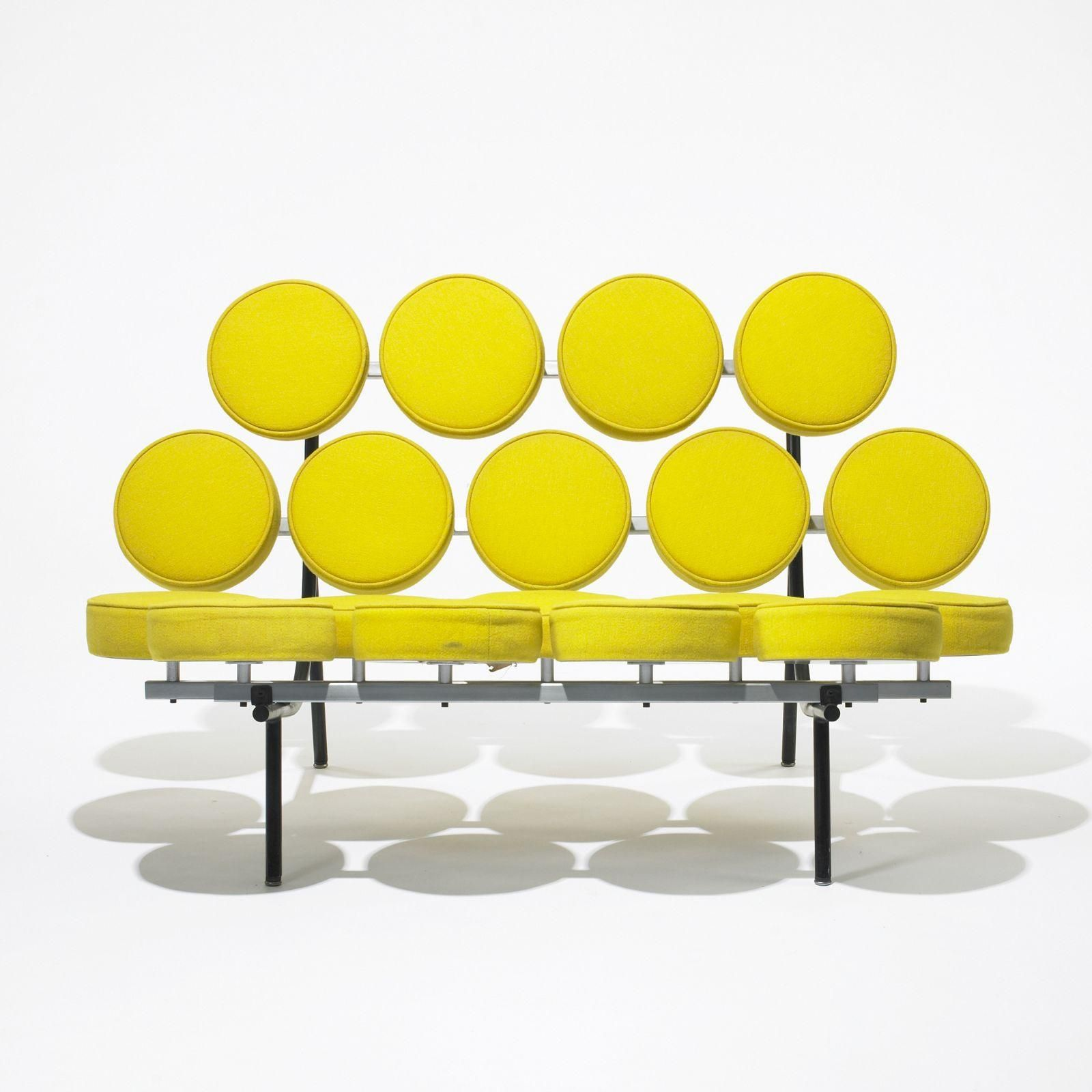marshmallow sofa by george nelson (knoll )  furniture   - marshmallow sofa by george nelson (knoll )