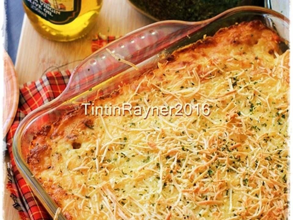 Resep Super Cheesy Macaroni Schotel Panggang Oleh Tintin Rayner Resep Resep Makanan Italia Panggang