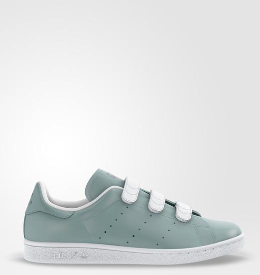 mi Stan Smith - Green adidas   adidas France   Sneakers, Stan ...