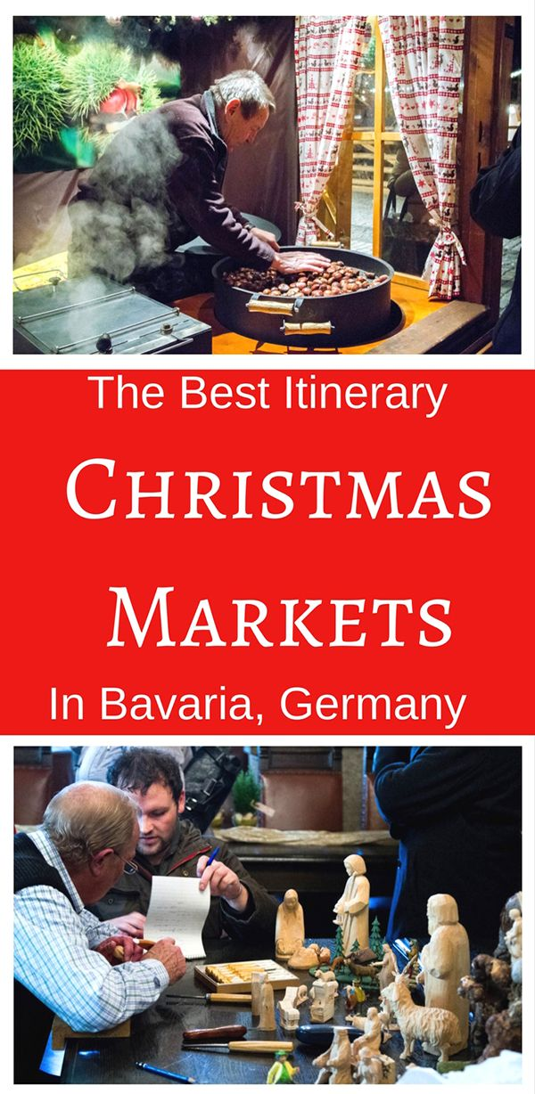 The Big 5 Bavarian Christmas Markets   A One Week Itinerary is part of The Big  Bavarian Christmas Markets A One Week Itinerary - Visions of steaming mugs of gluhwein and sweet tasting of stollen are dancing in my head  Check out our guide to the Big 5 Bavarian Christmas Markets