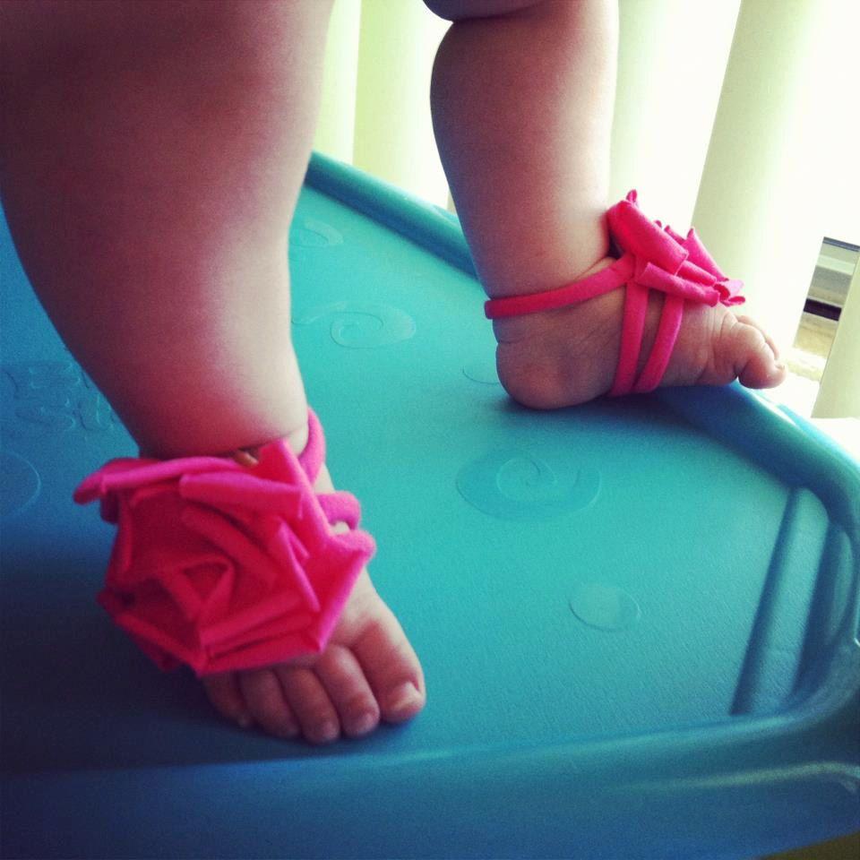 Baby Barefoot Sandals - Baby Girl - Toddler Girl - Baby ...