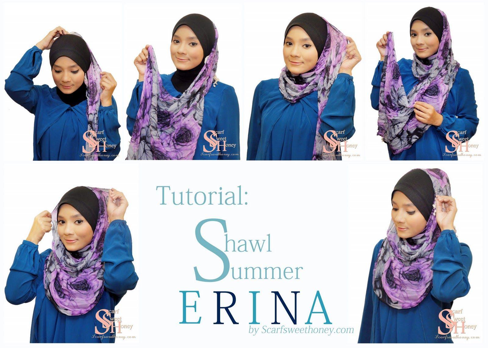 Hijab Tutorial Scarf Sweethoney Hijab Pinterest Hijabs