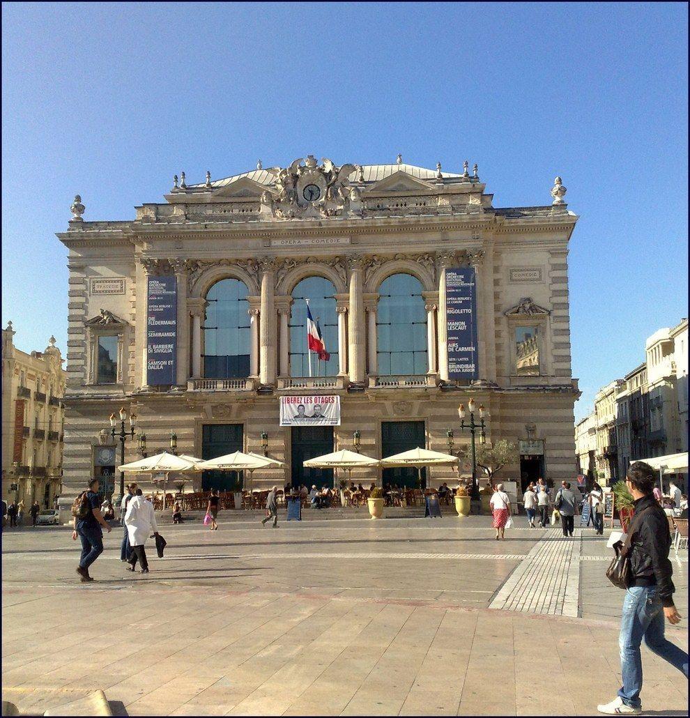 l'Opéra à Montpellier