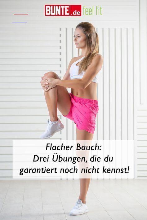 Home-Workout: Flacher Bauch: Drei Übungen, die du garantiert noch nicht kennst #flacher #bauch #work...