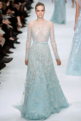 Elie Saab - Diseñador Favorito Spring 2012 Cotoure Collection Style.com
