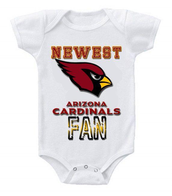 NEW Football Baby Onesie Creeper NFL Arizona Cardinals #2