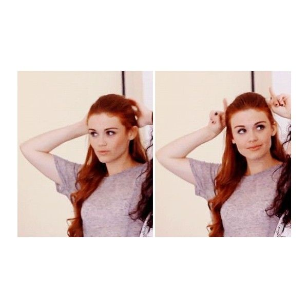 Holland Roden! ❤ liked on Polyvore featuring holland roden and teen wolf