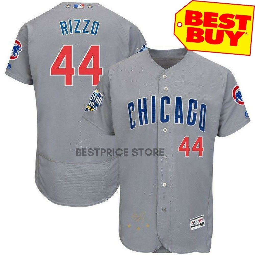 2016 MLB FLEXBASE Chicago Cubs 44 Rizzo blue jersey
