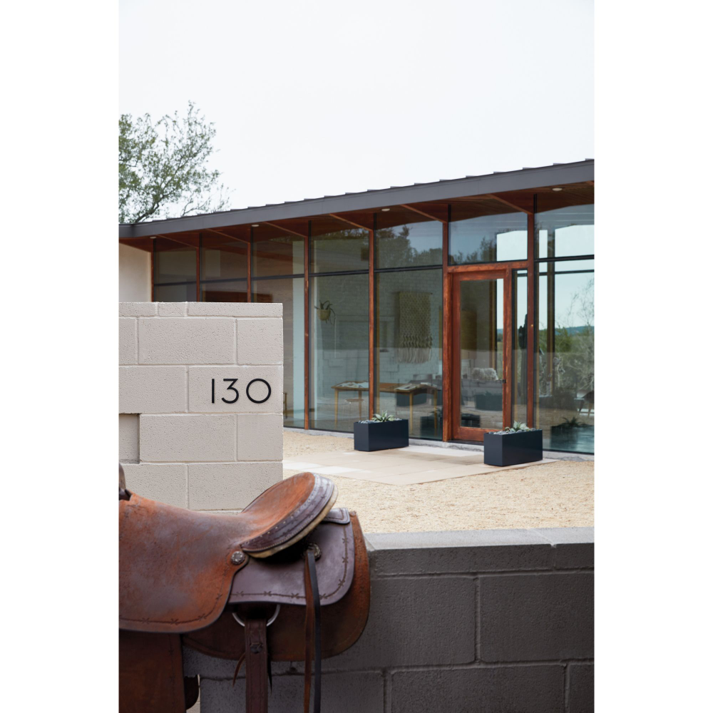 Neutra Modern House Numbers Modern House Number House Numbers