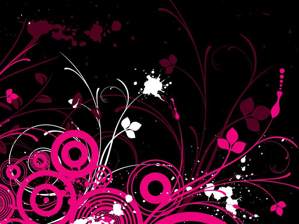Pink And Black Screensavers Free Hd Wallpapers Pink And Black Wallpaper Art Wallpaper Cool Background Designs