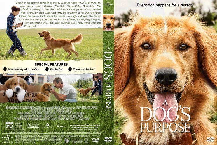 A dogs purpose custom dvd cover