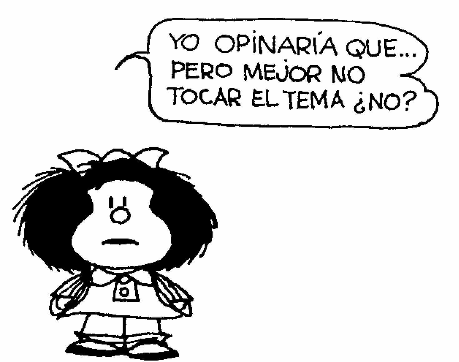Las 35 mejores vi etas de mafalda de s tira pol tica for Que es un articulo cultural o de espectaculos