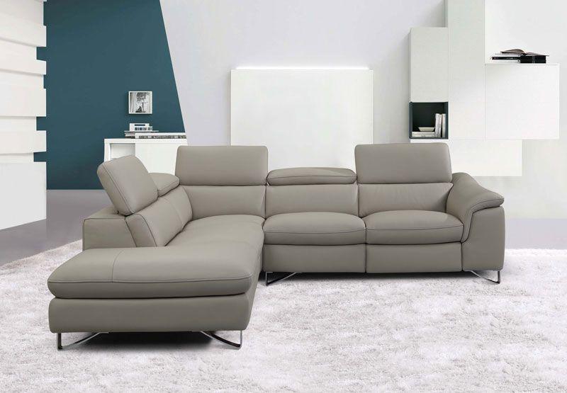 Banest Mooie Hedendaagse Salon Met Elektrische Relax Beweegbare Hoofdsteunen En Ligfunctie De Metalen Poten Geven Deze Sectional Couch Home Decor Furniture