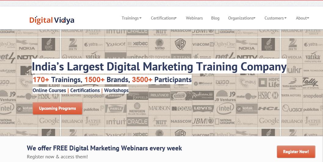 Digital Vidya - online training   Digital marketing ...