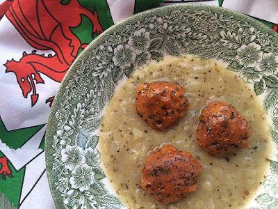 Welsh Laverbread Seitan Faggots (vegan) with Onion Gravy for #SumaBloggersNetwork by @shaheenA2K