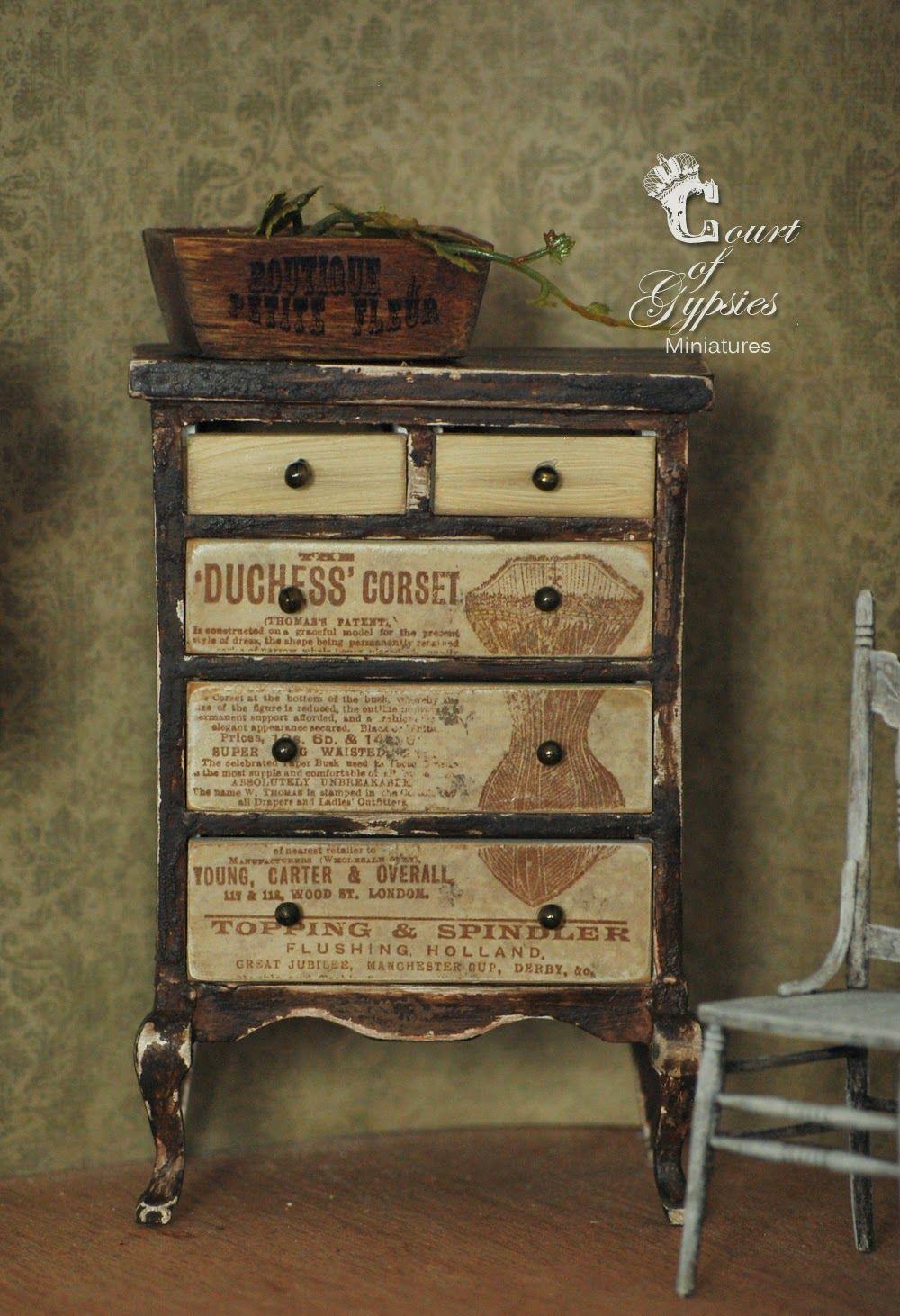 En El Patio De Los Gitanos Gabinetes Y Repisas Miniatura  # Muebles El Gitano