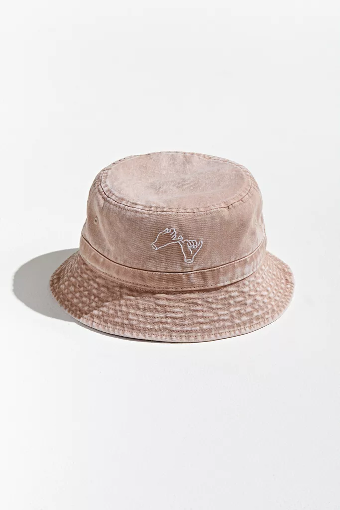 Embroidered Pinky Promise Bucket Hat In 2020 Bucket Hat Hats Hats For Men
