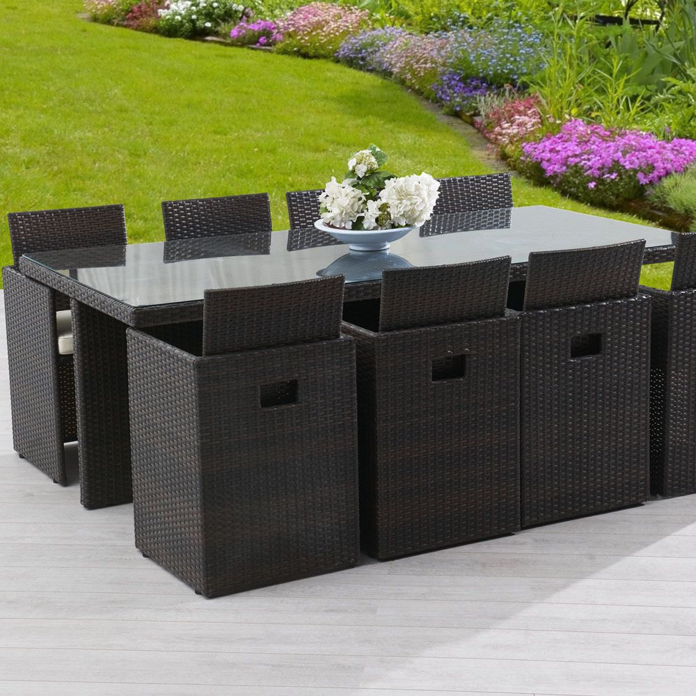 salon de jardin resine | Meuble jardin | Outdoor furniture ...