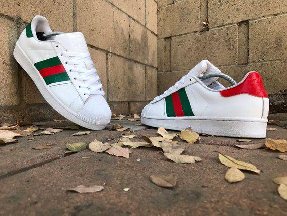 Adidas superstar Gucci custom | Products