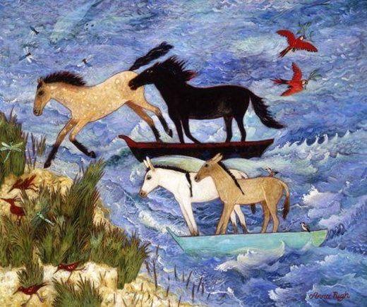 Anna Pugh Landfall Illustration Art Art Painting Art