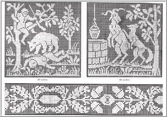Antique Craft Pattern Book On CD - Filet crochet patterns - vintage crochet patterns and kits, vintage knitting patterns and kits, antique craft books - (Powered by CubeCart)