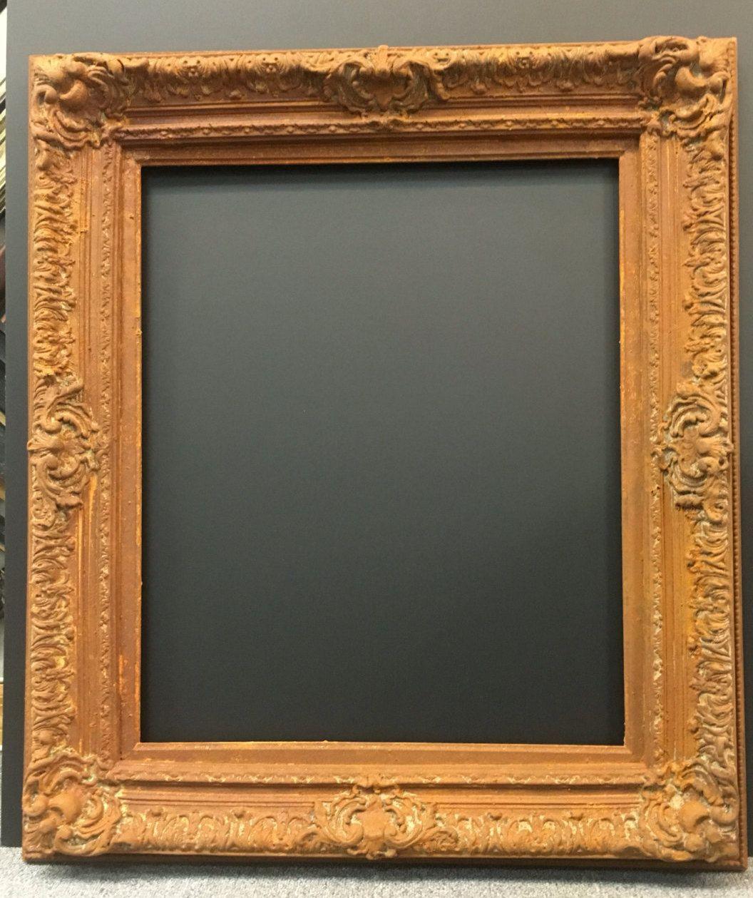 Ornate Rustic Frame, Rust Frame, Shabby Chic Frame, Mirror Frame ...