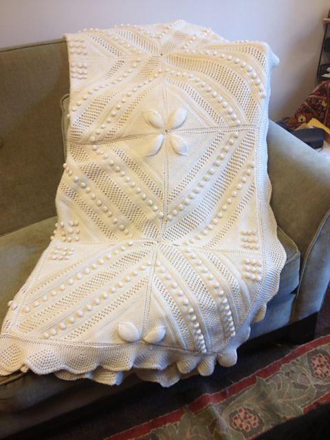 Ravelry: zigmeister\'s Knitted Counterpane   strickmuster   Pinterest ...