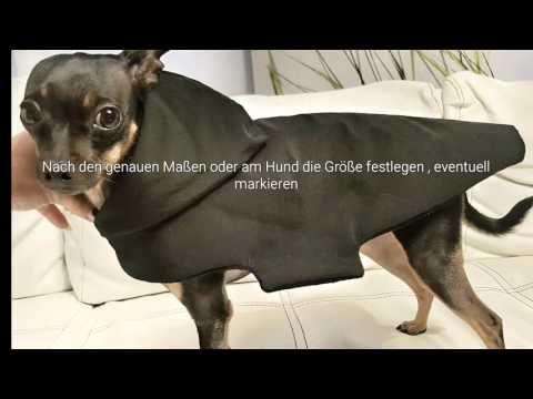 Hundemantel Dogcoat Tutorial selbernähen - YouTube   Hund ...
