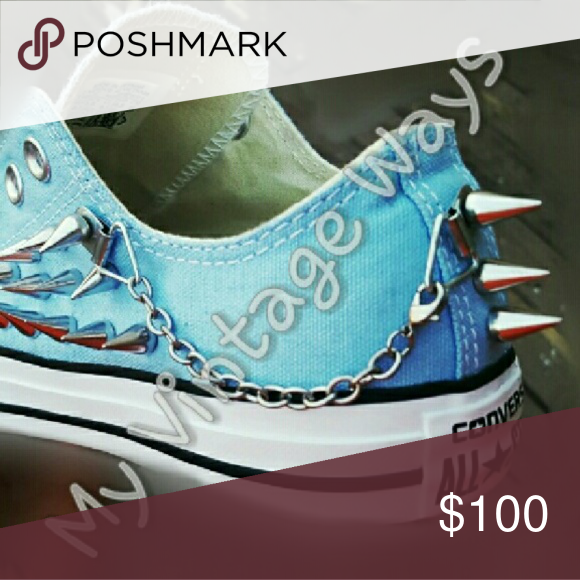 Custom Made Converse All-Star Shoes ***Will sell for $75 Outside of  sc 1 st  Pinterest & Custom Made Converse All-Star Shoes ***Will sell for $75 Outside of ...