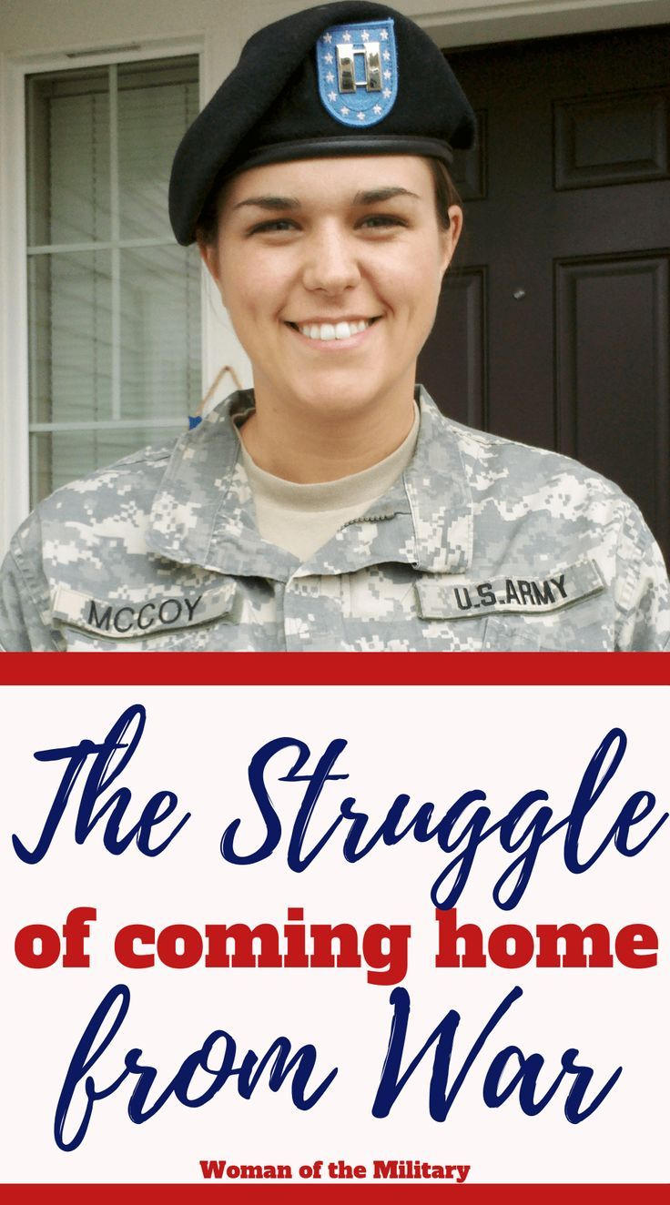 The Struggle of Coming Home from War Military spouse