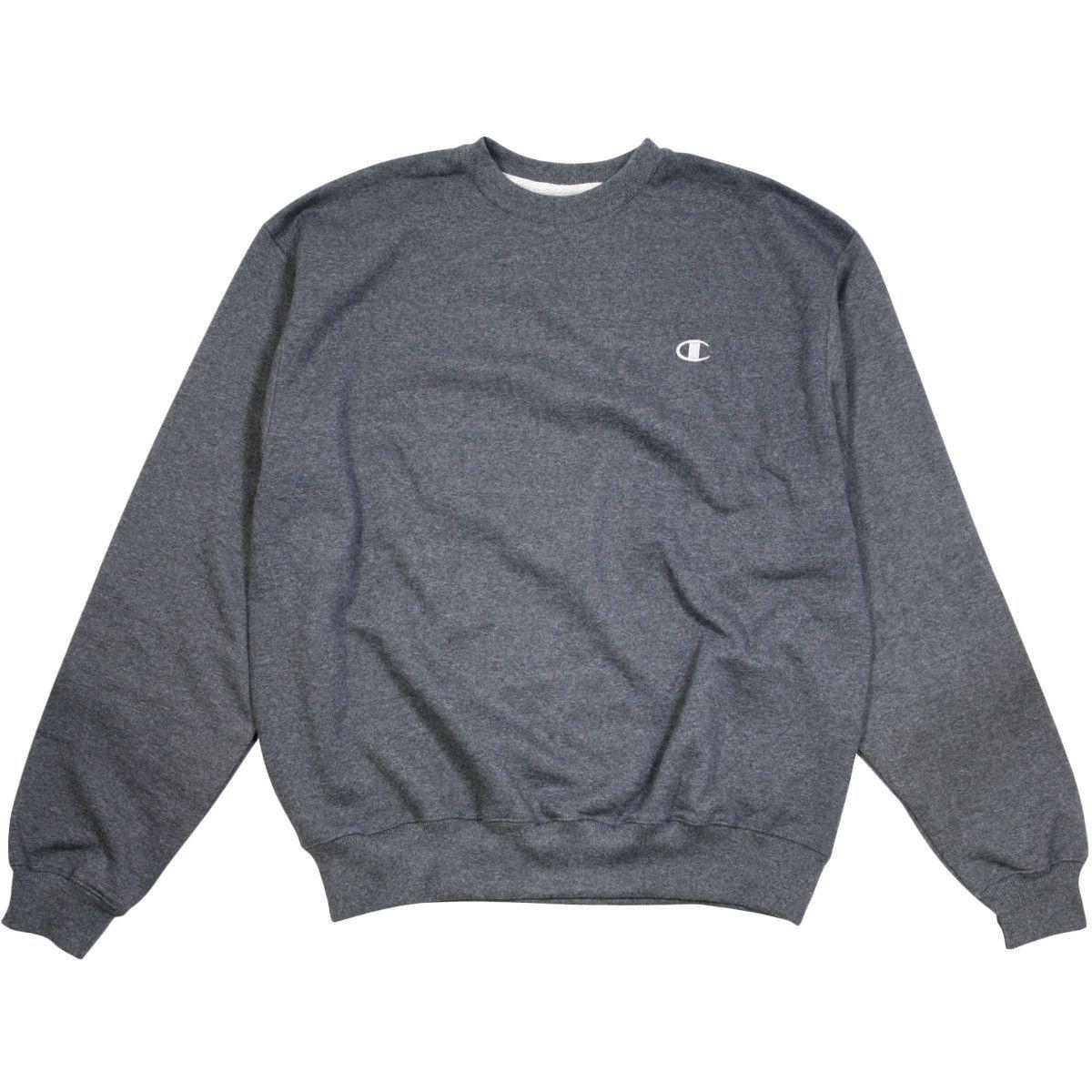 Champion Men S Eco Fleece Sweatshirt Granite Sweatshirts Sweatshirt Fleece Mens Outfits [ 1200 x 1200 Pixel ]