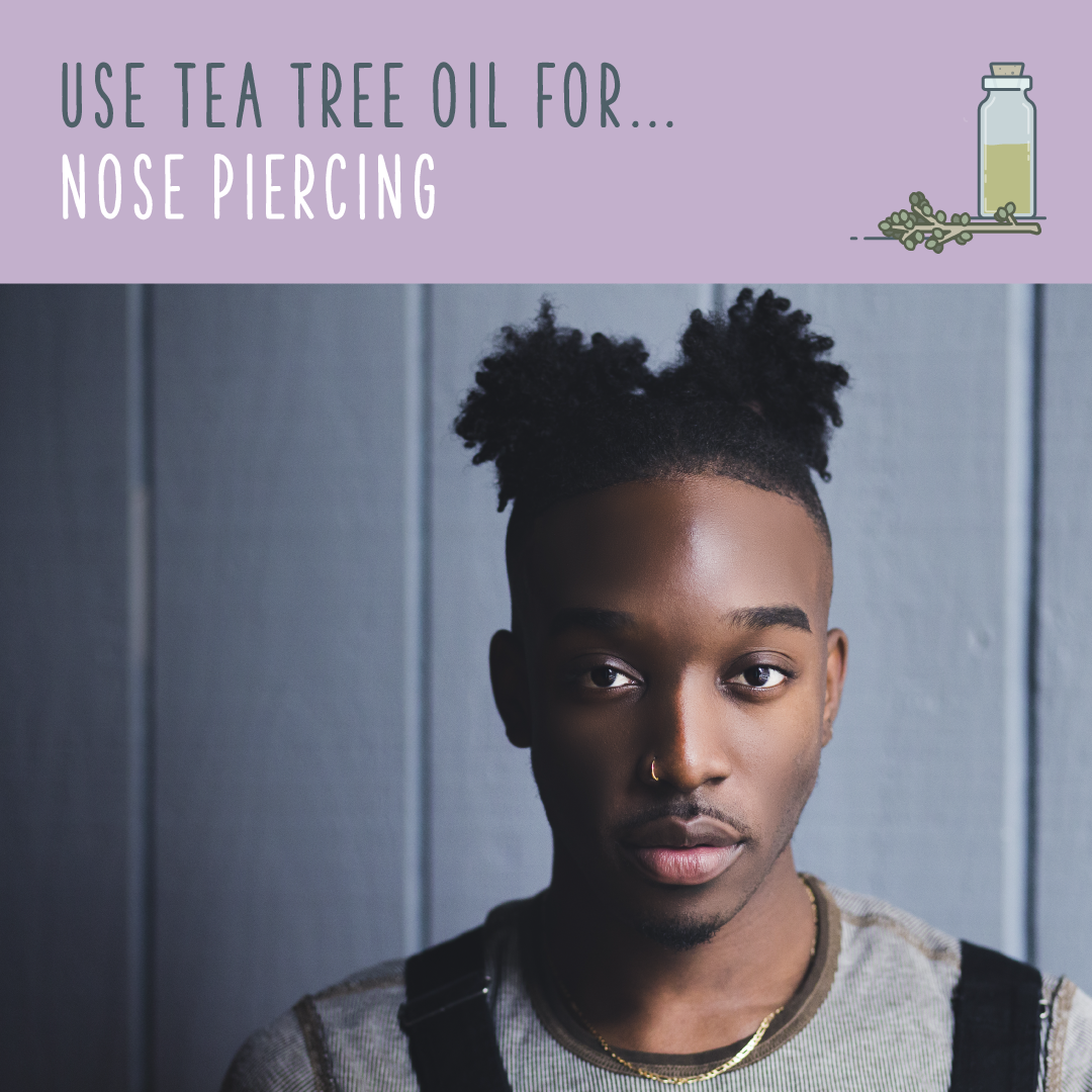 Bump over nose piercing  Tea Tree Oil Uses  Ways To Benefit From Tea Tree Oil  essence of