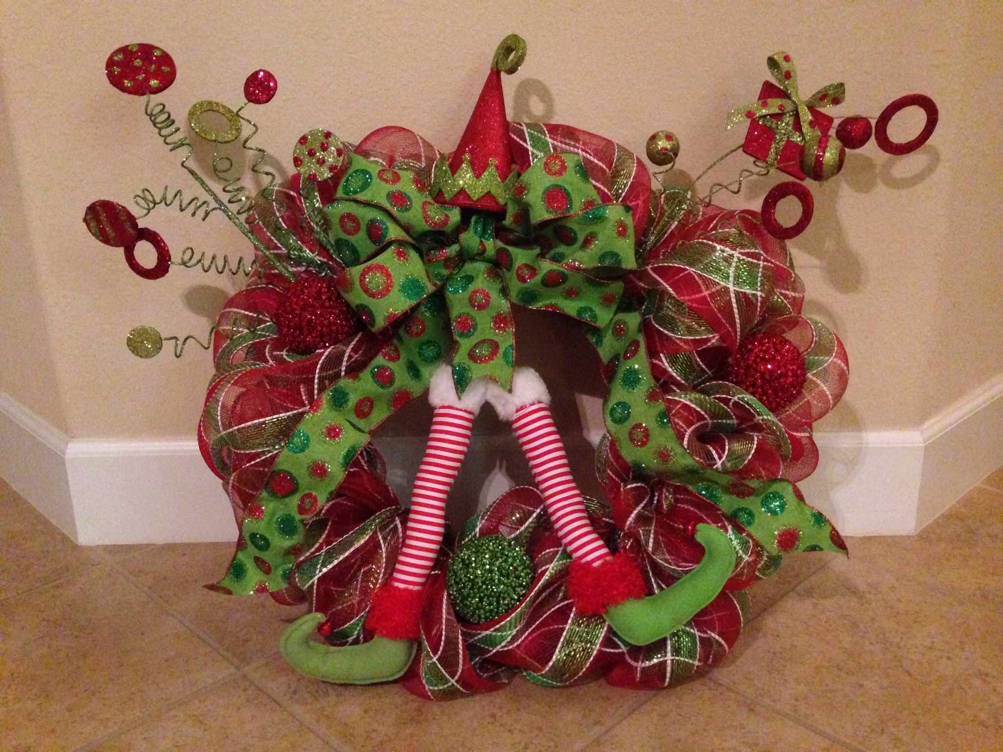 Christmas deco mesh wreath view craigslist posting to