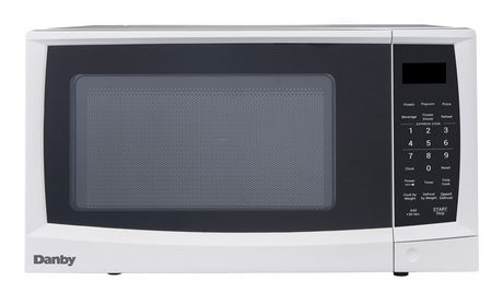 Danby Products Danby 0 7 Cu Ft Microwave White Danby