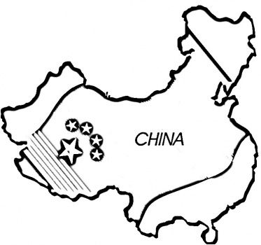 Chinese Map Coloring Page Flag Coloring Pages Free Printable